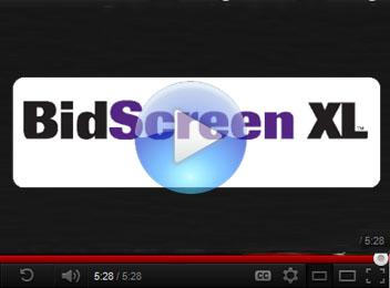 Bidscreen XL Video
